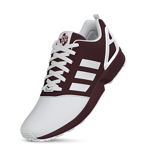 adidas mi Texas A&M ZX Flux Shoes | adidas US
